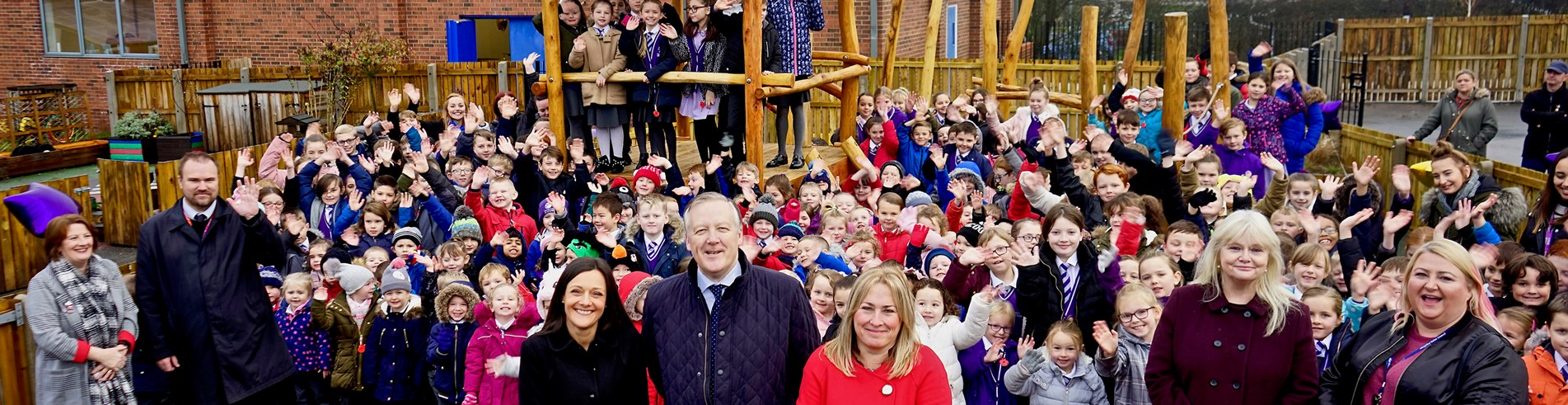 New adventure playground unveiled at Sacriston Academy