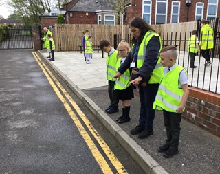 Year 3 pedestrian crossing